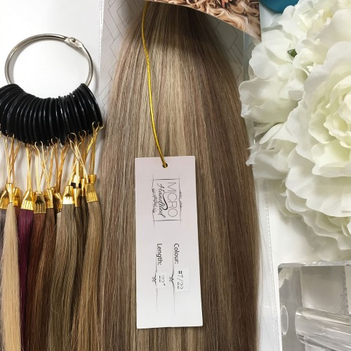 "Micro Handtied Weft 22"" #7/22-OUT OF STOCK"