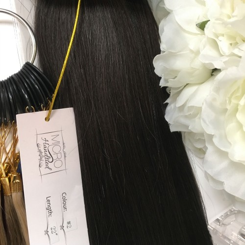 """Micro Handtied Weft 22"""" #2 -OUT OF STOCK"""